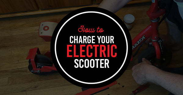 how to charge scooter