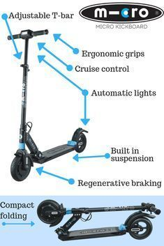 Scooters Control Features