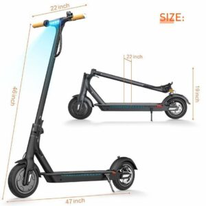 TOMOLOO L1 Electric Scooter and Foldable Kick Scooter 2
