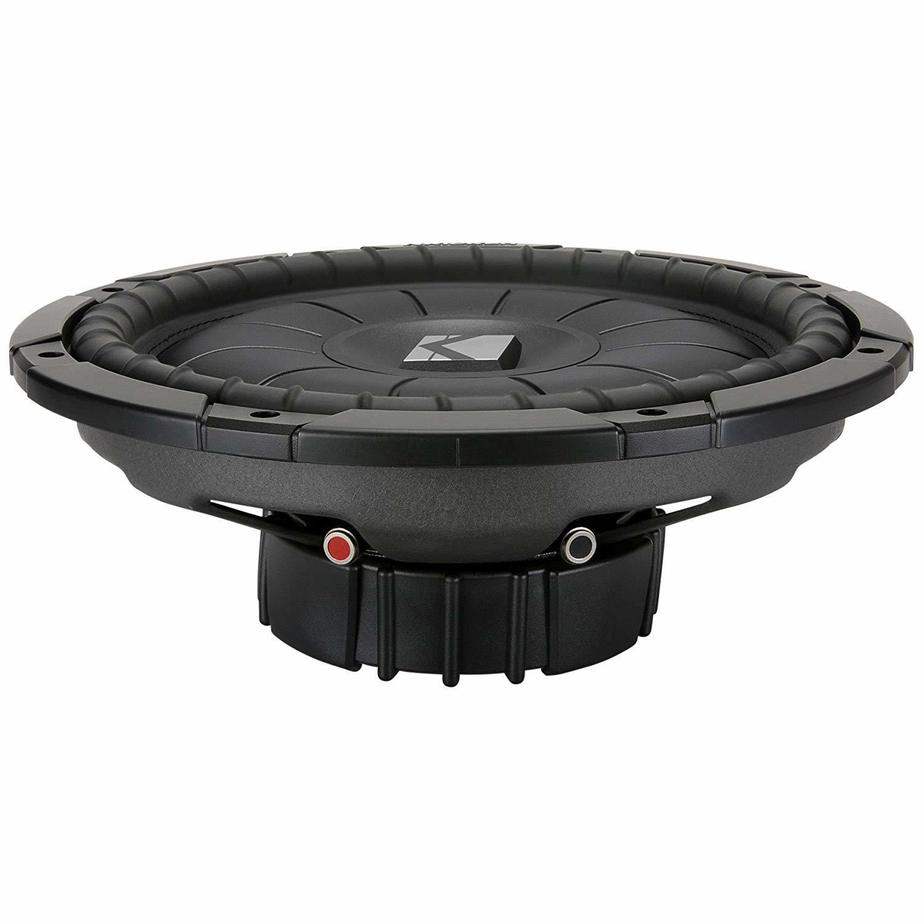 Kicker CVT124 12 inchSingle 4 ohm Shallow-Mount CompVT Series Car shallow mount Subwoofer